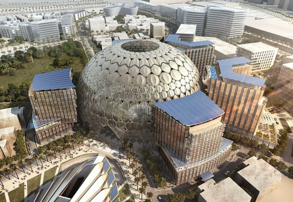 Expo 2020 Dubai Thematic Districts