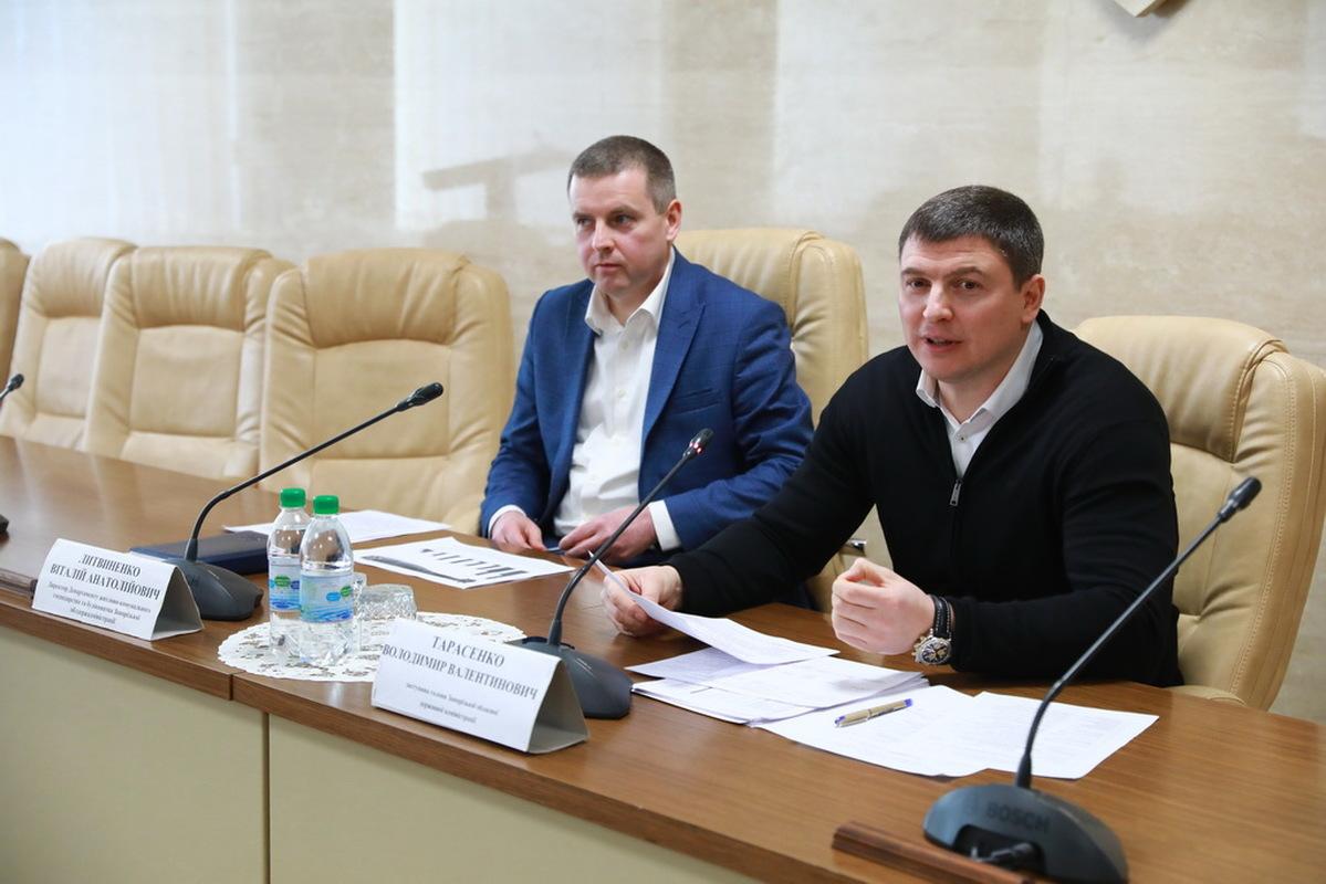 заступника голови облдержадміністрації Володимира Тарасенко